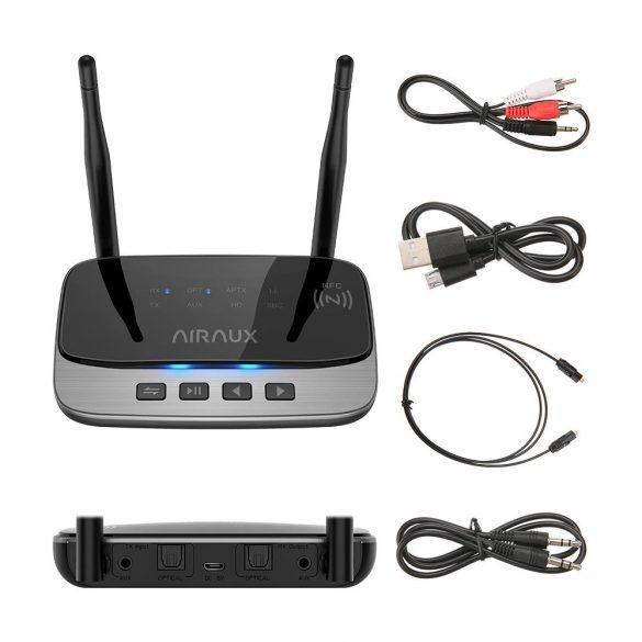 Bluetooth Transmitter Empfänger, BlitzWolf® AIRAUX AA-BT3 Bluetooth 5.0 Receiver Sender Apt HD Bluetooth Audio Adapter