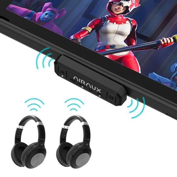 BlitzWolf® AirAux AA-BT2 - USB Typ C - Bluetooth 5.0 Musiksender für PC und Sony PS