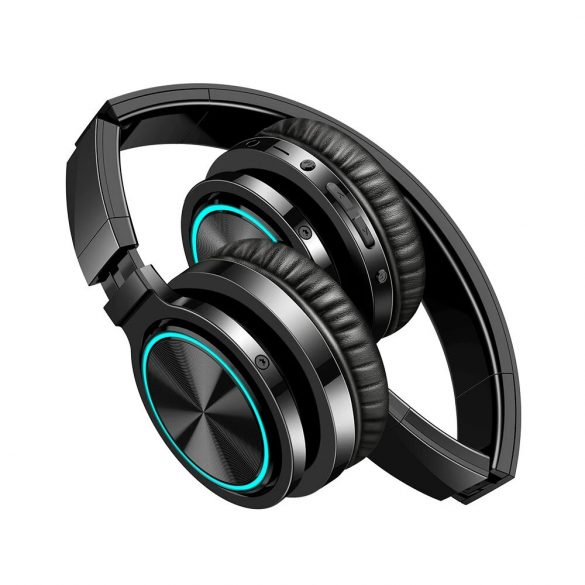 BlitzWolf AirAux AA-ER1 Bluetooth V5.0 Kopfhörer, faltbar Wireless Stereo Headset drahtlose Kopfhörer Ohrhörer On Ear mit Mikrofon