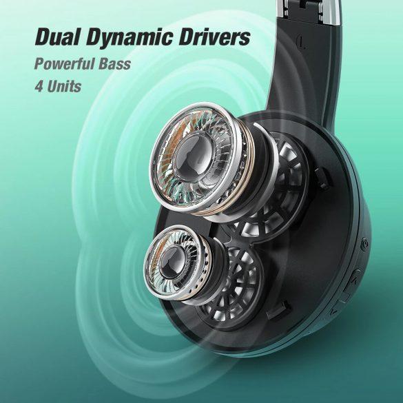 BlitzWolf® AirAux AA-ER3 - Dual Dynamic Driver-Kopfhörer - lange Akkulaufzeit, Bass Boost