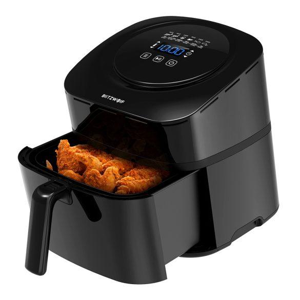 BlitzWolf®BW-AF1 Smart Air Fryer mit APP-Steuerung