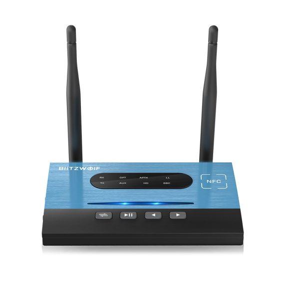 BlitzWolf BW-BR7 - Bluetooth Musikempfänger und -sender - Akku, 80 Meter Reichweite