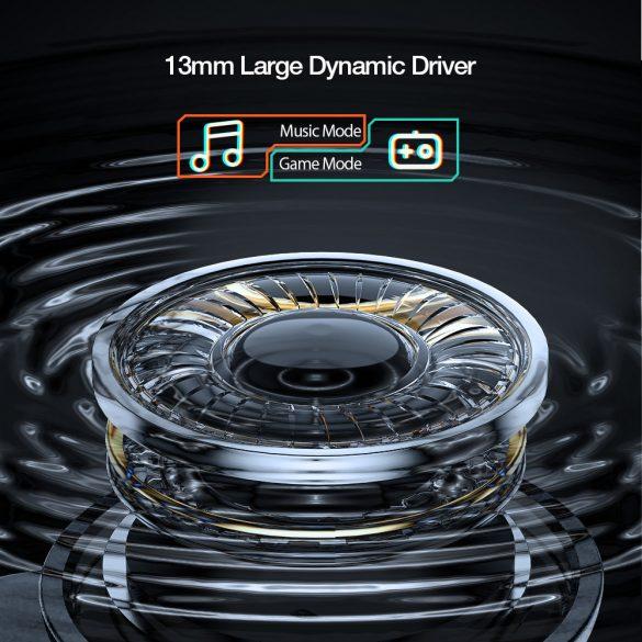 BlitzWolf® BW-FLB3 Kabelloses Gamer-Headset - 0,04s Verzögerung, Dual Dynamic Driver, RGB-Beleuchtung