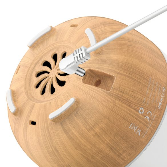 BlitzWolf®BW-FUN3 - Smart Aroma Diffusor; APP-Steuerung, buntes Licht, Sprachsteuerung