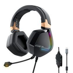 7.1 Surround-Gamer-Kopfhörer - BlitzWolf BW-GH2; RGB LED, Rauschunterdrückung, ergonomisches Design