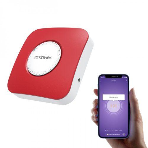 BlitzWolf® BW-IS11 Wi-Fi Smart Sirenenalarm - 90dB Alarmton, APP-Steuerung, USB-Netzteil