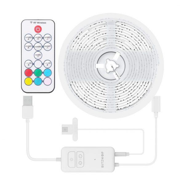 BlitzWolf® BW-LT32 2M USB-RGB TV Streifenlicht Kit