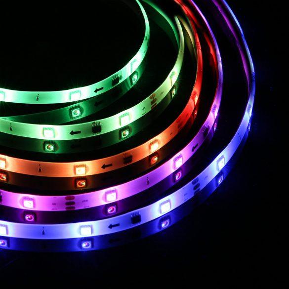 BlitzWolf® BW-LT33 Smart LED-Streifen - 5 m / 10 m lang, App- und IR-Fernbedienung, Musikmodus, verschiedene Lichteffekte