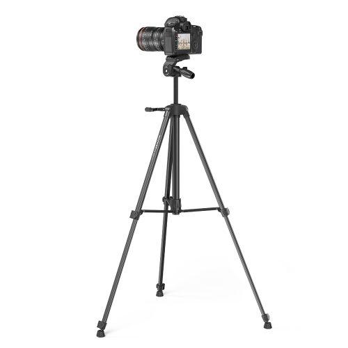 BlitzWolf® BW-STB1 - Stativ für Kameras und Handys - 160 cm, geringes Gewicht, Fernbedienung