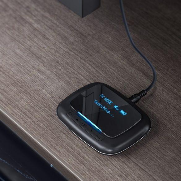 Bluetooth Transmitter Empfänger, BlitzWolf BW-BR6 Bluetooth 5.0 Receiver Sender (aptX Low Latencyfor Bluetooth®) Bluetooth Audio Adapter