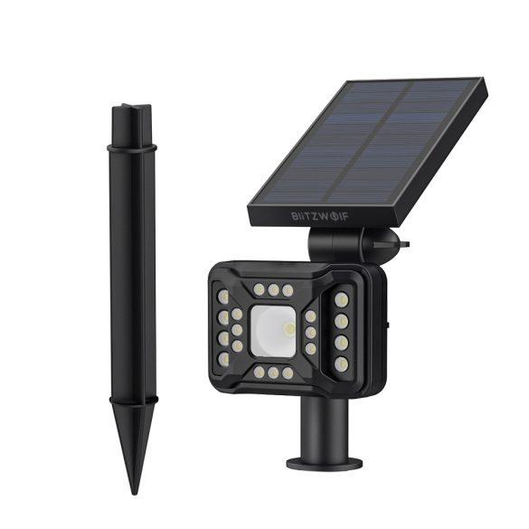 Outdoor Solar Lampe - BlitzWolf BW-OLT2 mit Bewegungsmelder, IP44 wasserdicht