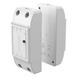 BlitzWolf® BW-SS4 WiFi-Smart-Switch-Controller 15A / 3300W mit maximaler Last, App-Steuerung, Timer, Sprachsteuerung und Status-Feedback