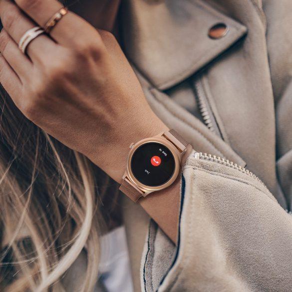 BlitzWolf BW-AH1 silver - Damen-Touchscreen-Smartwatch - Silber