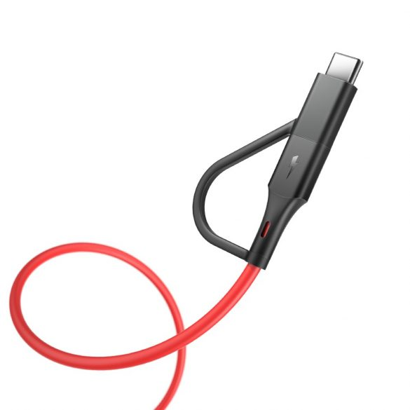 BlitzWolf® BW-MF3 - 2in1: Type C - Micro USB -Kabel