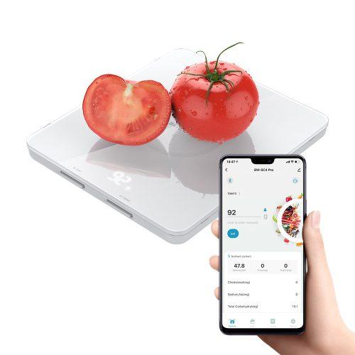 Blitzwolf® BW-SC4-Pro Smarte Küchenwaage - Nährwertdatenmanagement in der App