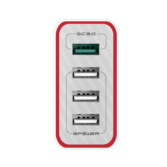 35W 4-Ports QC3.0 und Power3S USB-Schnellladegerät - BlitzWolf® BW-PL5 Einzigartiges Design, mehrschichtiger Schutz