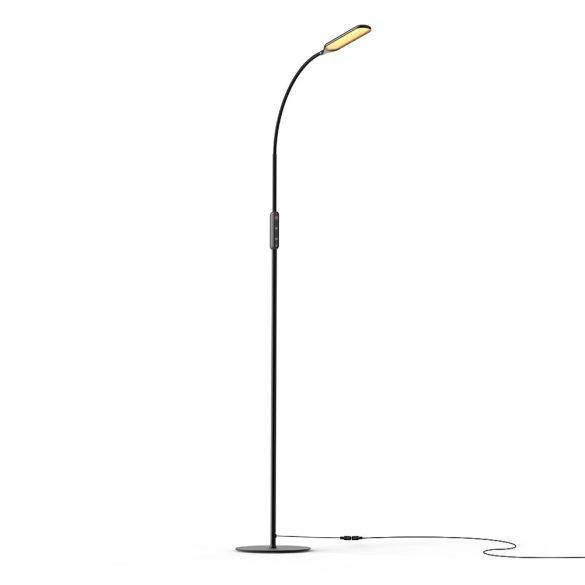 Stehlampe mit minimalem Design - BlitzWolf® BW-LT28 - 600LM, variable Farbtemperatur und Helligkeit, Fernbedienung