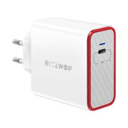 45W Ladegerät mit 1 Ports - BlitzWolf® BW-PL4 45W USB C, PD Ladegerät mit Power3S, einzigartiges Design, mehrschichtiger Schutz