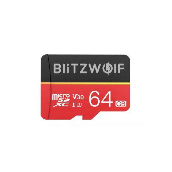BlitzWolf® BW-TF1 micro SD kártya adapterrel, 64GB