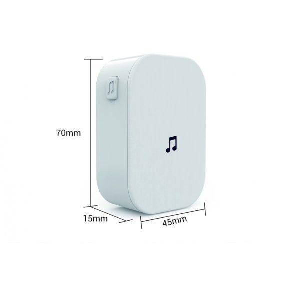 ESCAM V6 720P-Wifi Smart Video-Gegensprechanlage mit App-Steuerung + Akku + Innenklingel