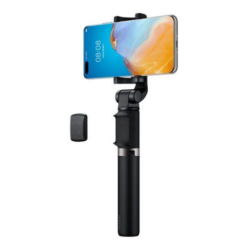 Huawei Bluetooth Selfie Stick + Stativ - abnehmbare Bluetooth-Fernbedienung mit Zoom-Video- / Bildumschaltfunktionen, max. 640mm Länge