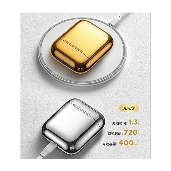 JOYROOM T03S - QI (kabelloses) Laden wird unterstützt, TWS drahtlose Bluetooth 5.0-Kopfhörer, silber