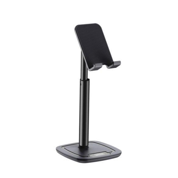 Joyroom Tischtelefonhalter, 260 mm hoch, Aluminiumgehäuse - schwarz