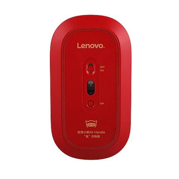 Lenovo Air Handle  Wireless Mouse - Wireless-Verbindung, 10 Meter Reichweite - Silber