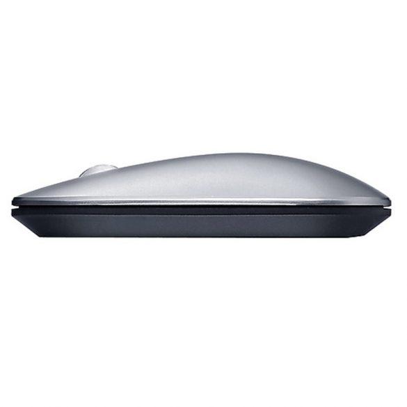 Lenovo Air2 Wireless Mouse - Bluetooth + 2,4 GHz Wireless-Verbindung, 10 Meter Reichweite - Silber
