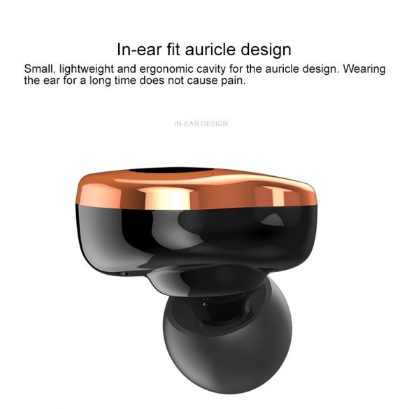 Sabbat E12 Ultra (Gold) with QI-wireless charging - TWS Kabellose Bluetooth-Kopfhörer In-Ear-Headsets Bluetooth 5.0 Auto-Pairing mit 750mAh-Ladebox Unterstützt Wireless Charge