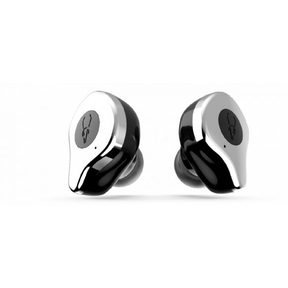 Sabbat E12 hail silver with QI-wireless charging - TWS Kabellose Bluetooth-Kopfhörer In-Ear-Headsets Bluetooth 5.0 Auto-Pairing mit 750mAh-Ladebox Unterstützt Wireless Charge