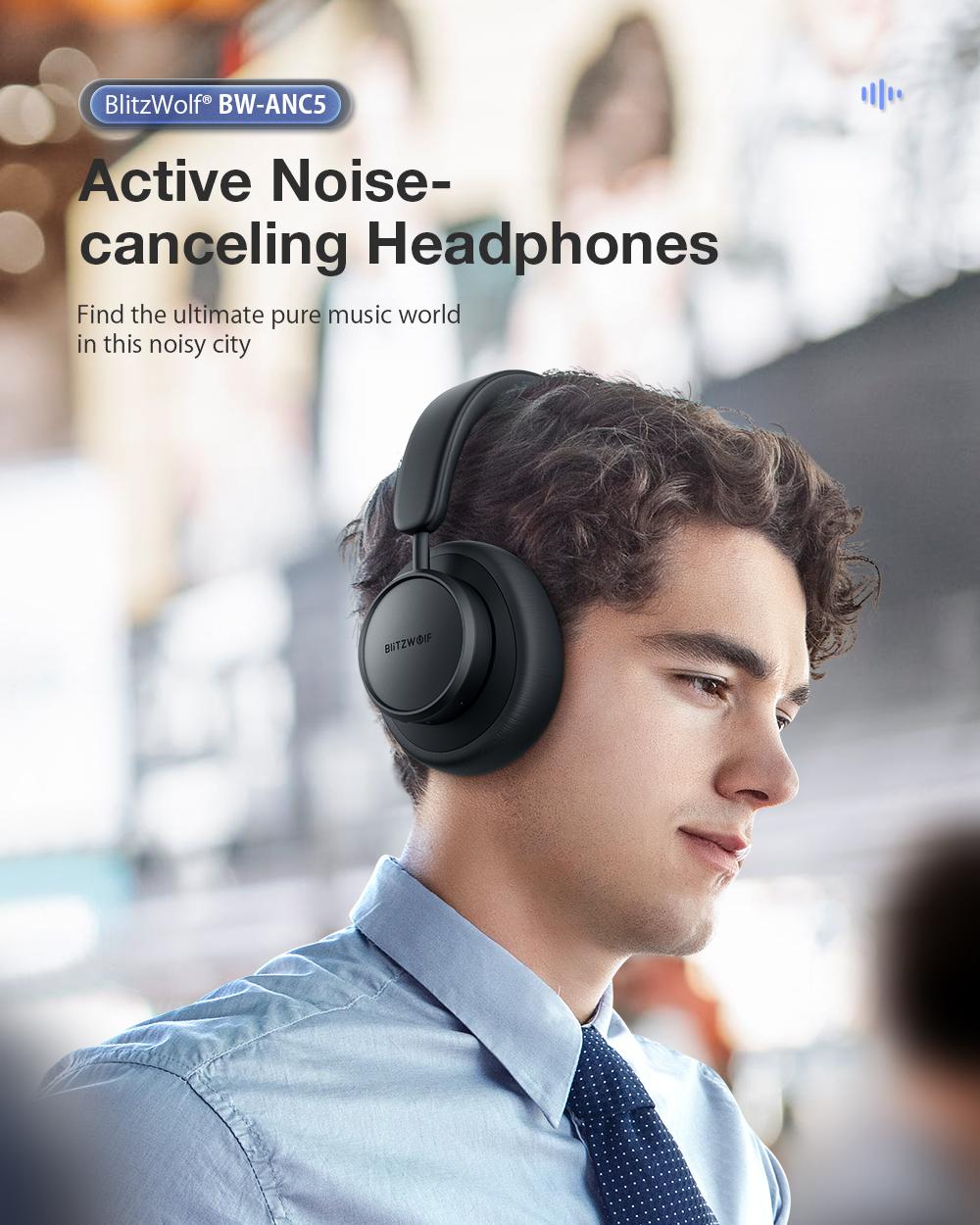 Blitzwolf BW-ANC5 Active Noise canceling headphone