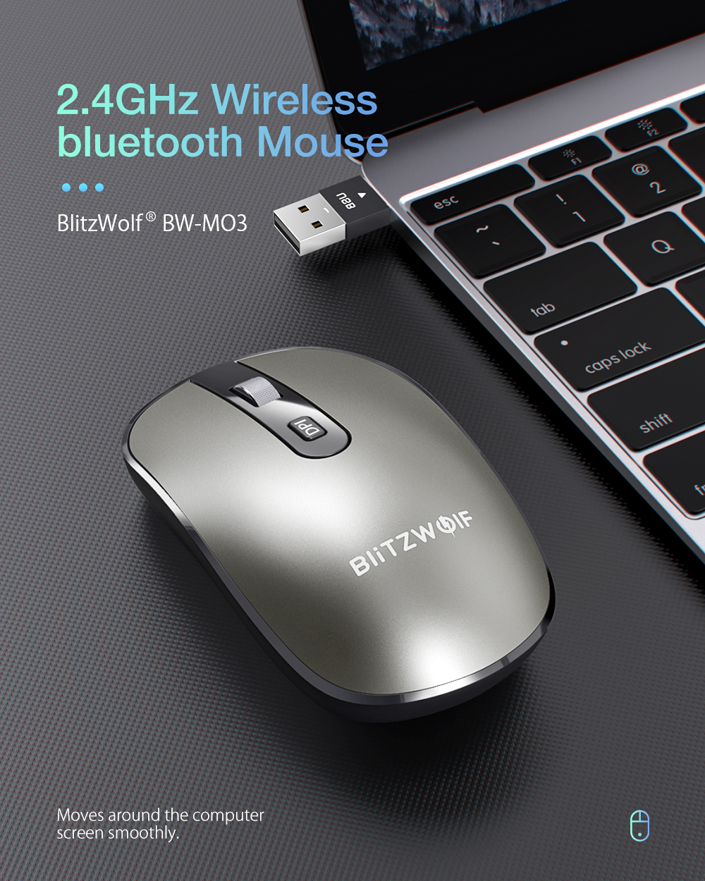 BlitzWolf BW-MO3 egér