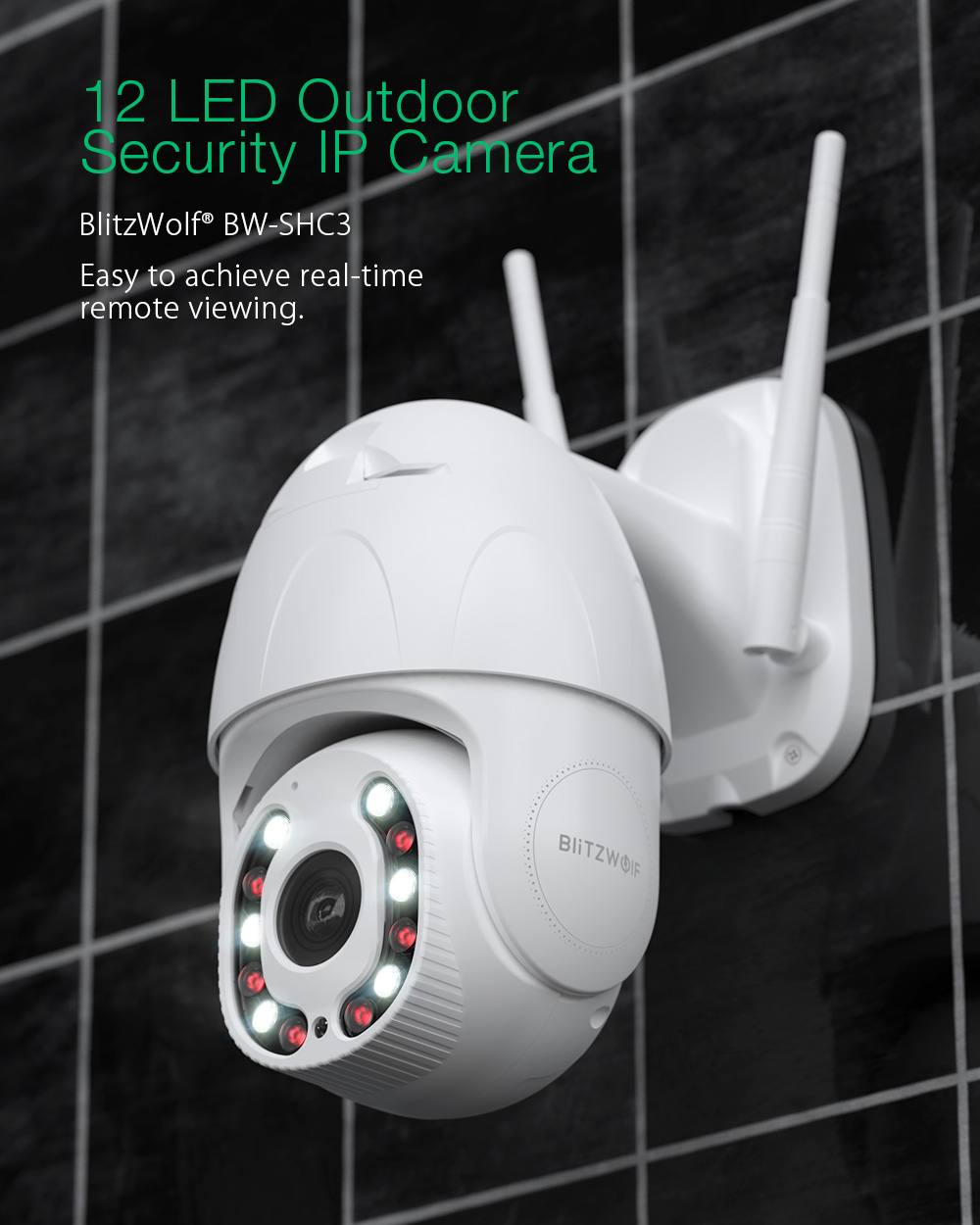 Blitzwolf BW-SHC3 Security IP camera