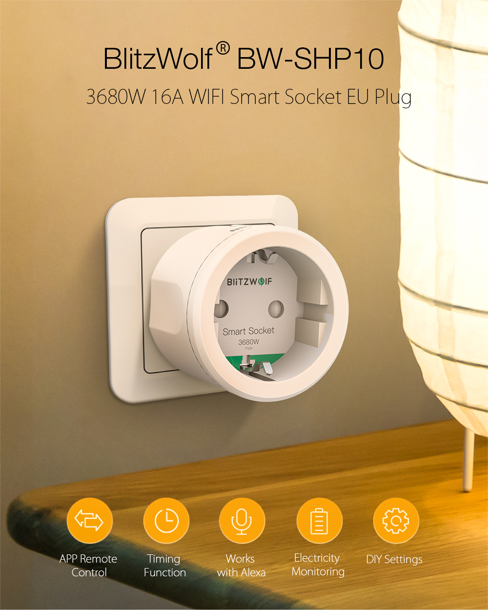 Blitzwolf BW-SHP10 smart socket